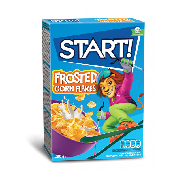 Готовый Завтрак Start FROSTED CORN FLAKES 280гр