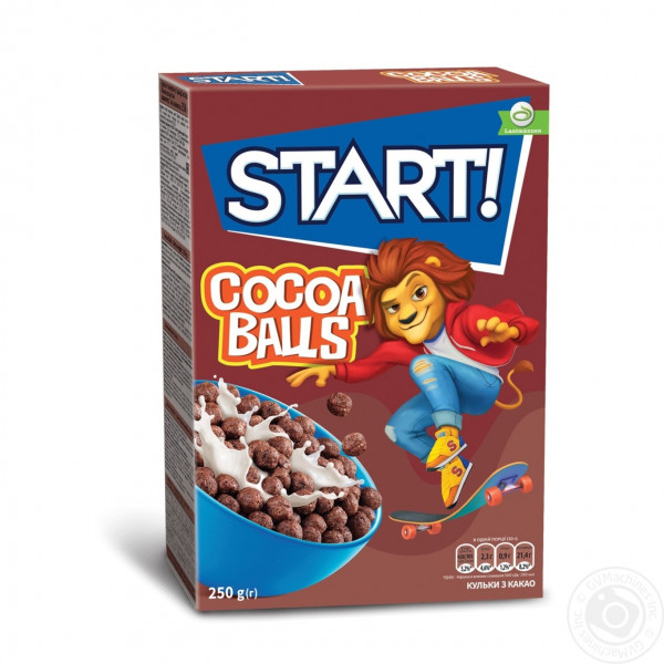 Готовый Завтрак Start  Cocoa Balls 250гр