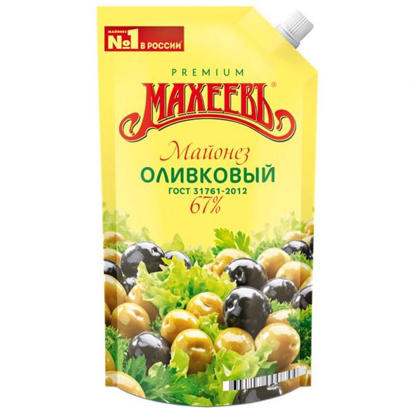 Майонез Махеевъ Оливковый 200мл