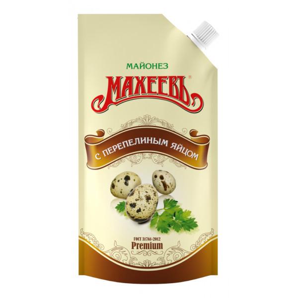 Майонез Махеевъ С Перепелиным яйцом 200мл