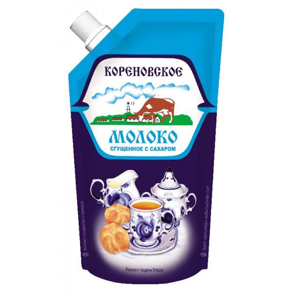 Сгущенное Молоко Кореновская 270гр