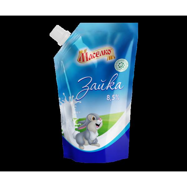 Сгущенка Маселко Зайка 8,5% 550гр м/у