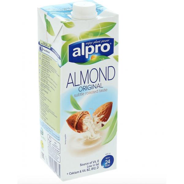 """Напиток миндальный обогащенный кальцием и витаминами """"ALPRO"""" 1 л"""