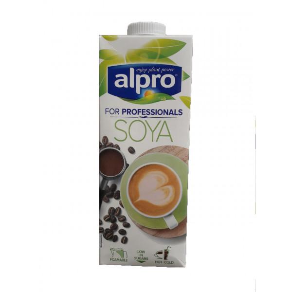 Alpro Professionals Напиток из Сои оригинальный, обогащенный кальцием и витаминами, 1 л,