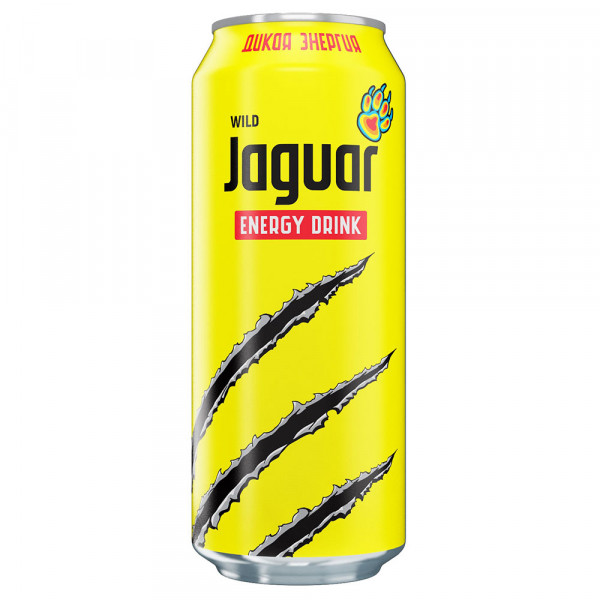 Энергетический Напиток Jaguar WILD 0.5ml