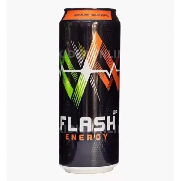 Напиток энергетический Флэш Энергия апельсиновый микс 0,45 л