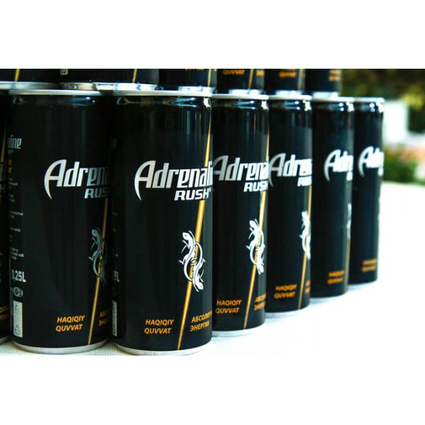Энергетический Напиток  Adrenaline Rush 0.25мл