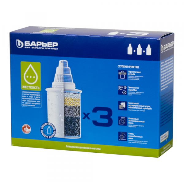 Сменный Фильтр для воды Барьер Жёсткость 3 в 1