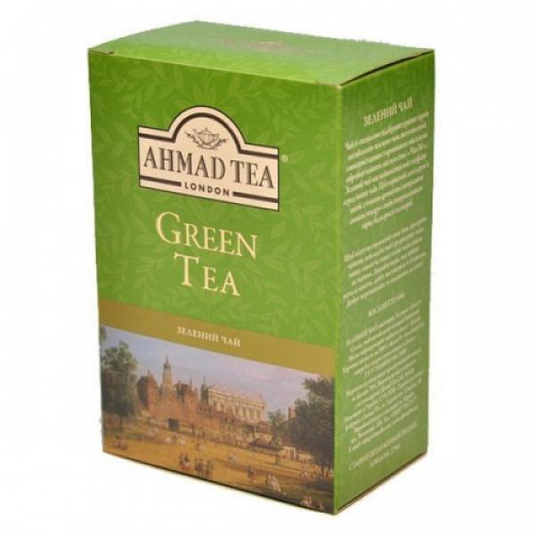 Чай Ahmad зеленый, 100 гр