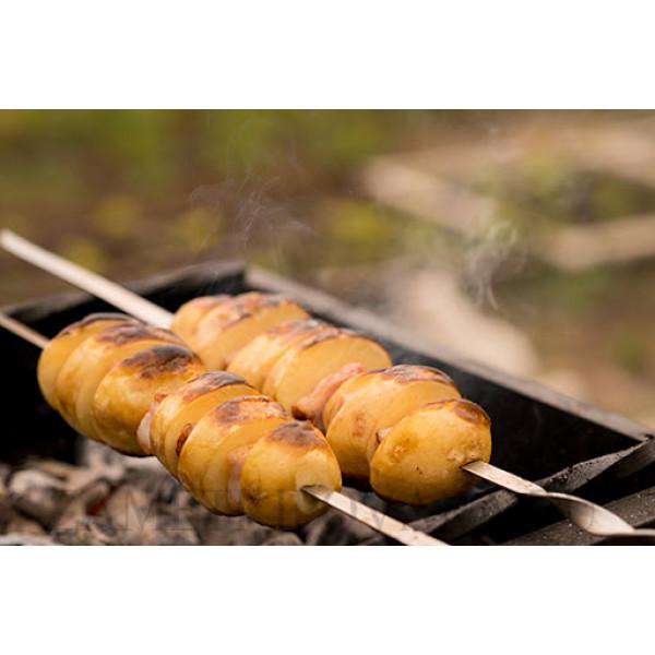 Картошка на шампуре