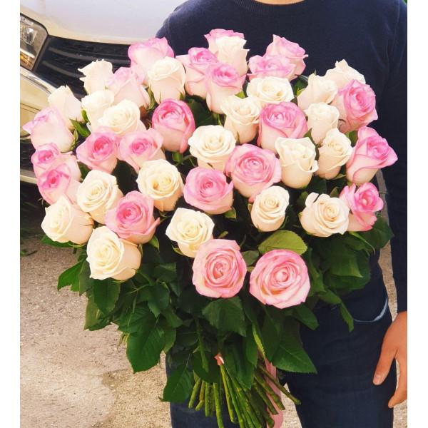 Букет из 51 Розы под Голланд 1 сорт