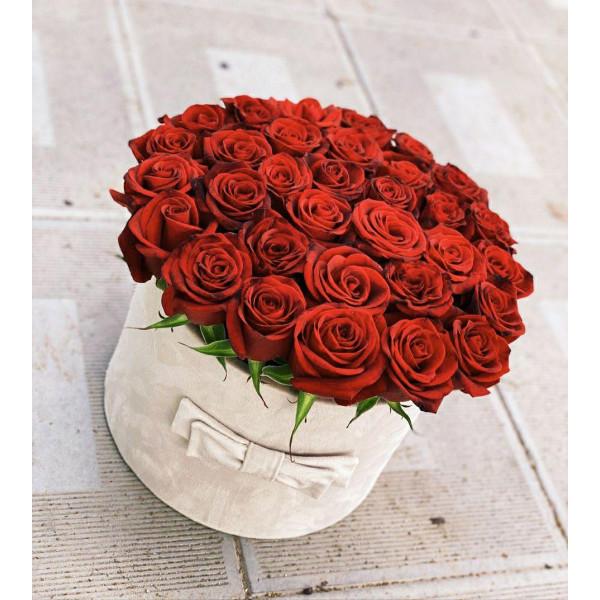 Ташкентская Роза в коробке 31 шт