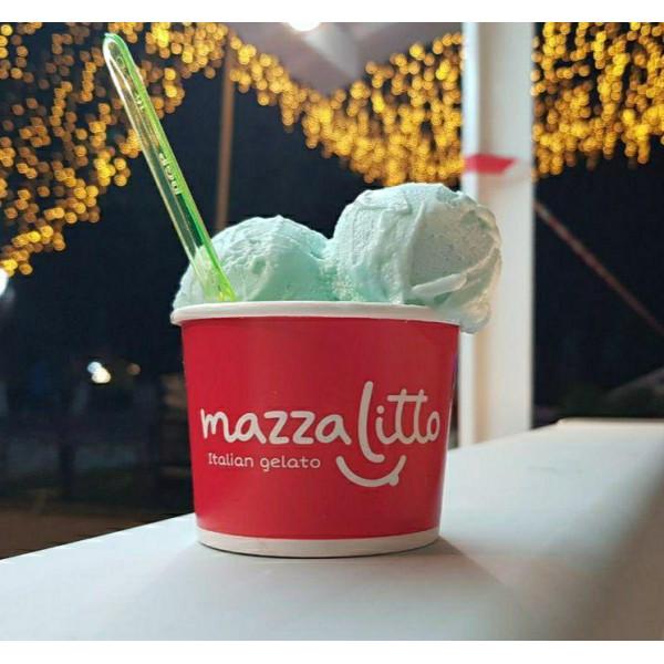 Мороженое Мятное (1 шарик)