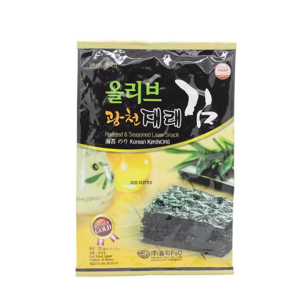 Морская капуста Korean Kim Жарено-сушёная 20гр