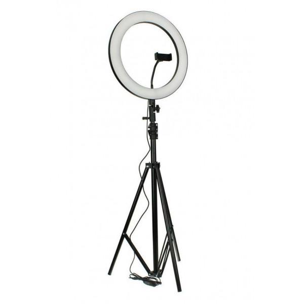 Кольцевая лампа со штативом на 1.80 см