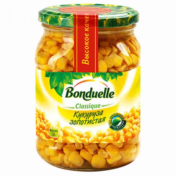 Bonduelle кукуруза золотистая в зернах с/б 530 г
