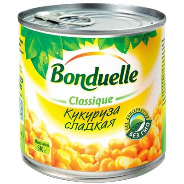 Bonduelle кукуруза сладкая 340 г