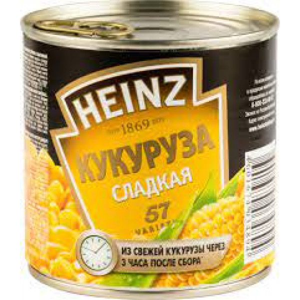 Hains кукуруза 340 гр