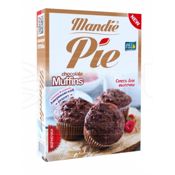 mandie pie chocolate muffins 8 порций