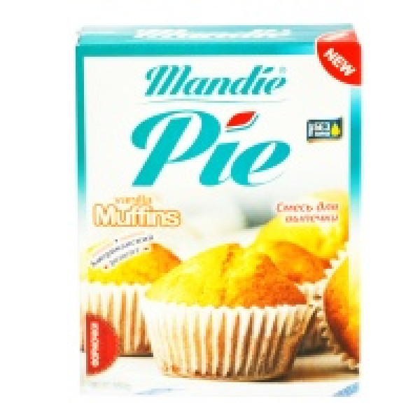 mandie pie vanilla muffins