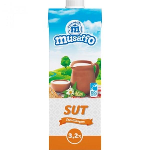 Молоко Musaffo 3.2% 950ml